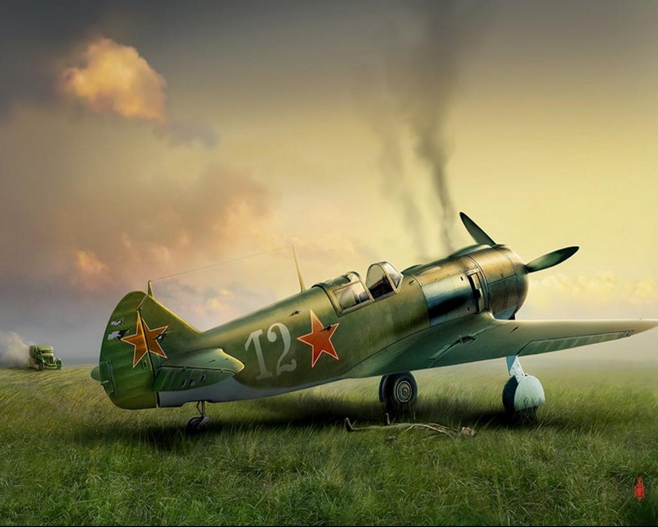 Ла-5 (ЛаГГ-5) » Мир самолетов. Все самолеты мира подробный ресурс ...