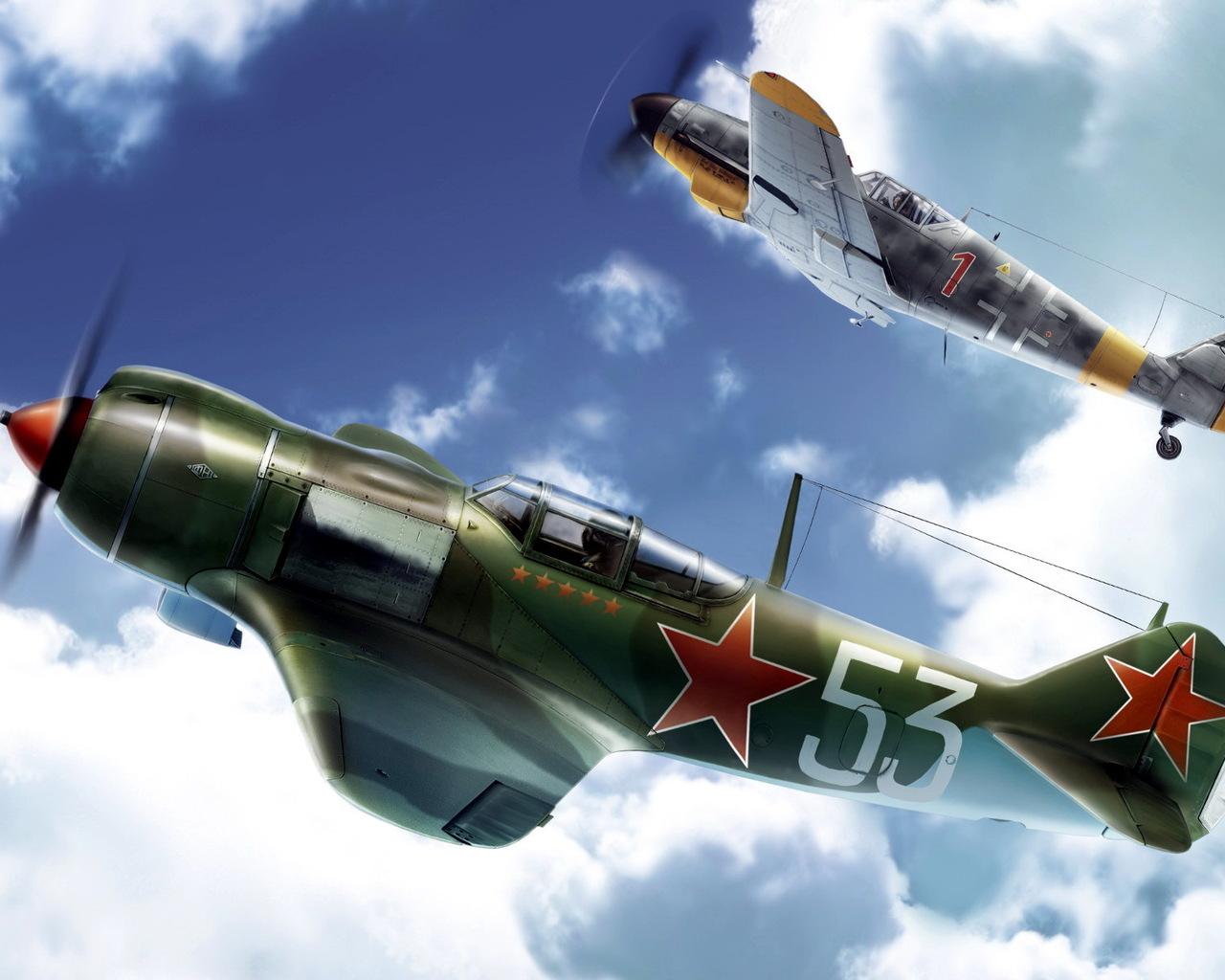 самолеты ла-5 фото
