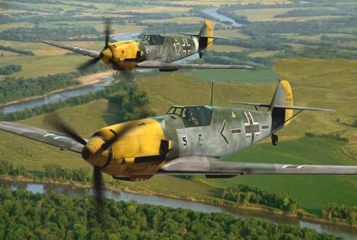 Подробнее о самолете messerschmitt bf 109