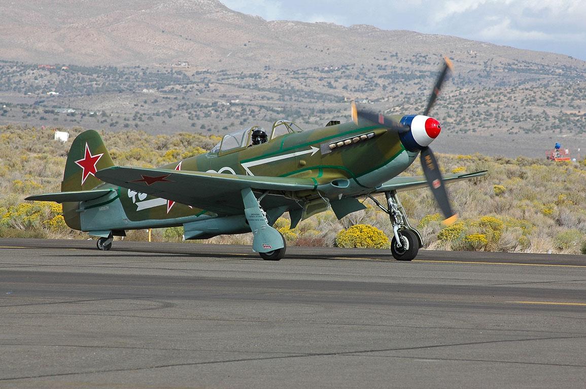 Normandie Yak-9U fighter.
